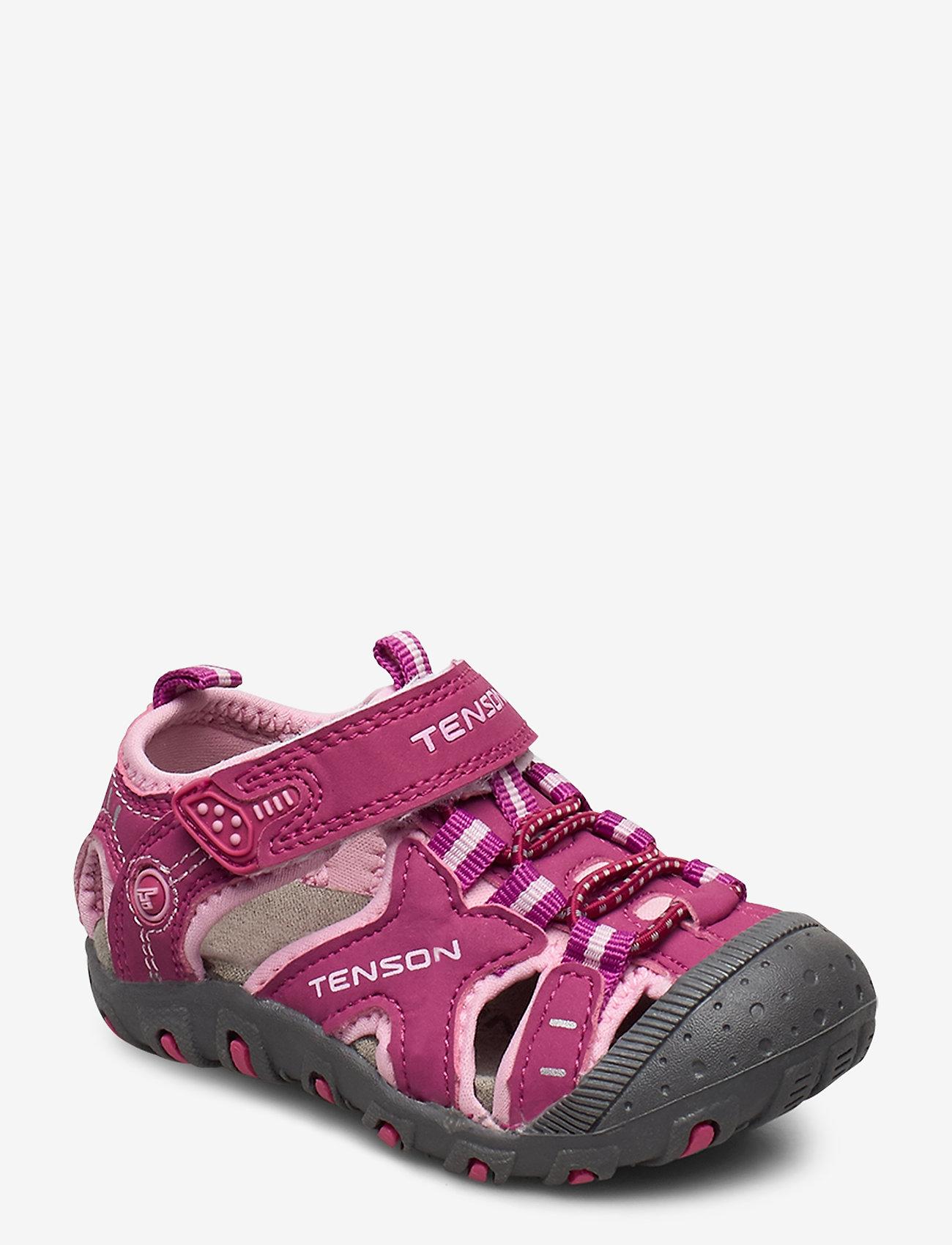 Tenson - TEYAH - sandalen met riempjes - cerise - 0