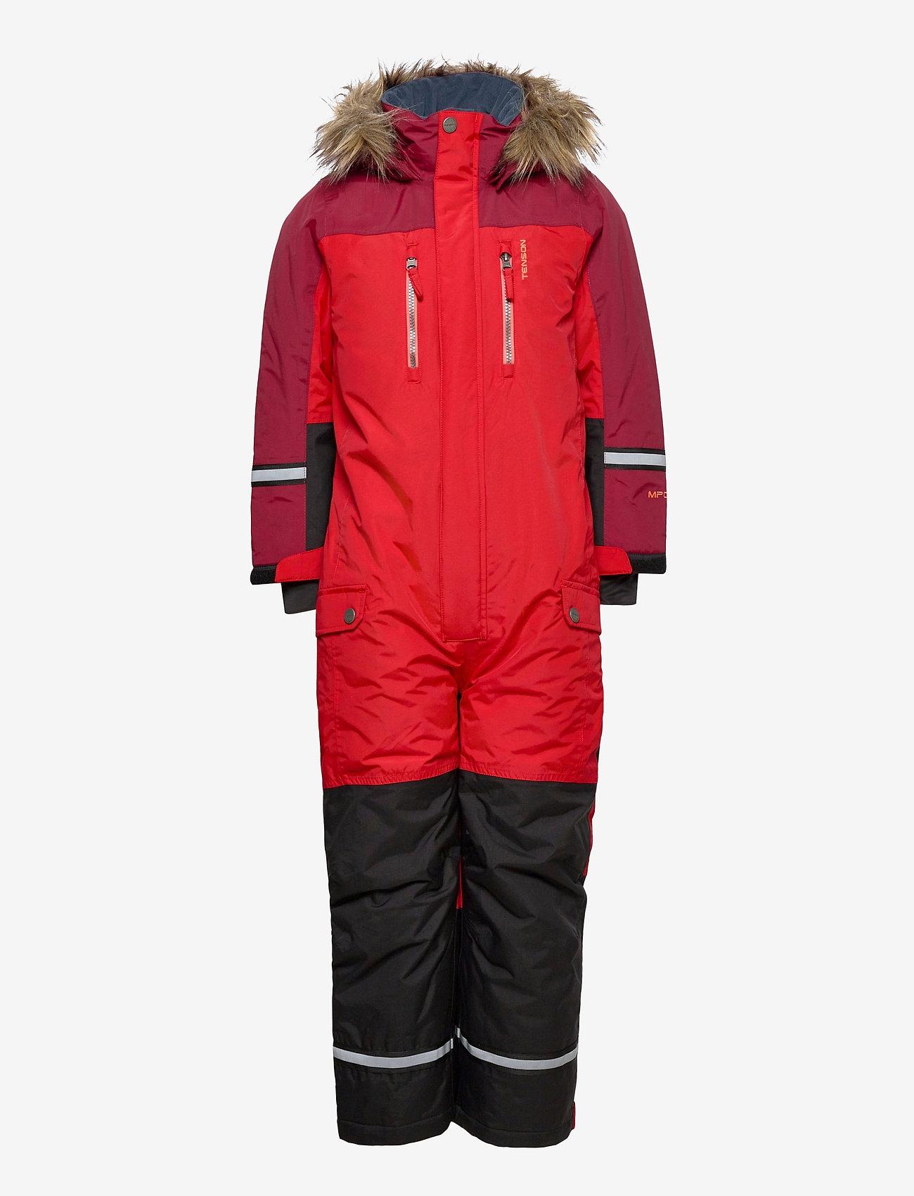 Tenson - Dominic - snowsuit - red - 0