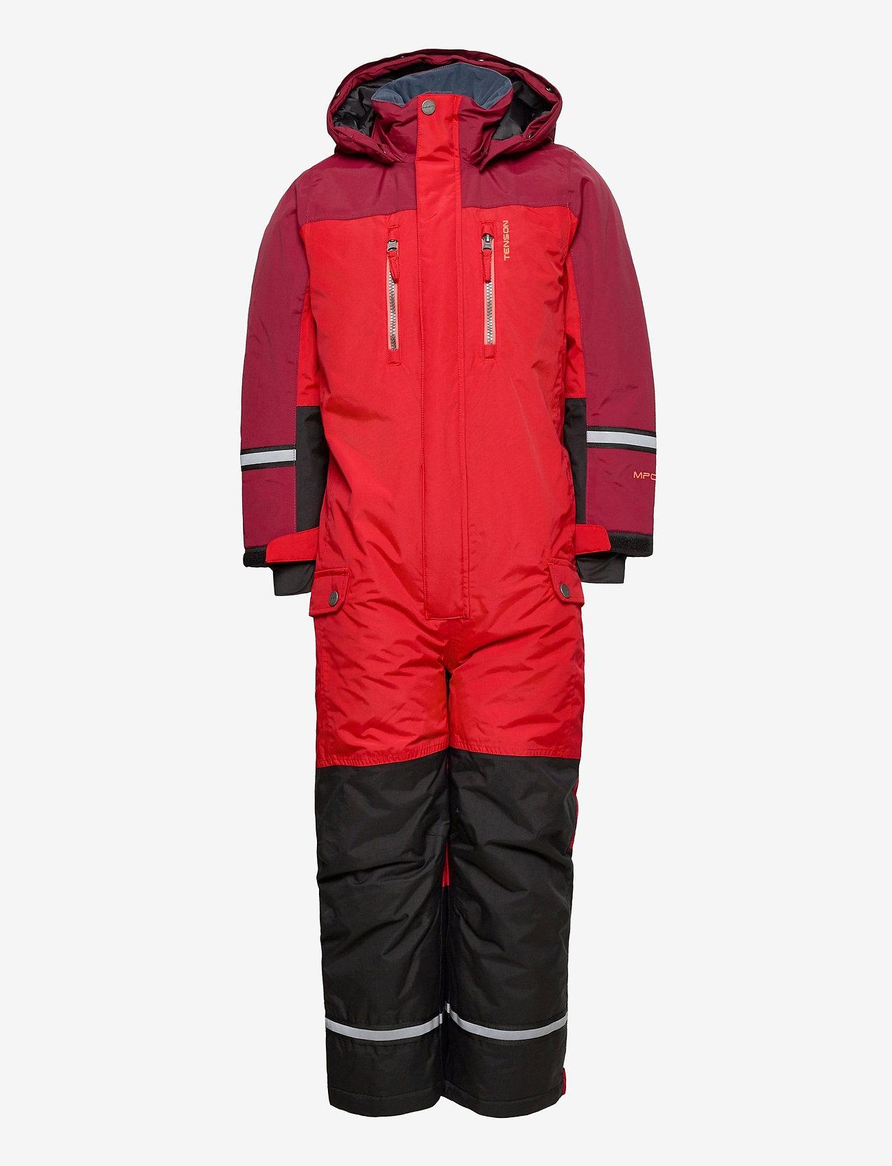 Tenson - Dominic - snowsuit - red - 1