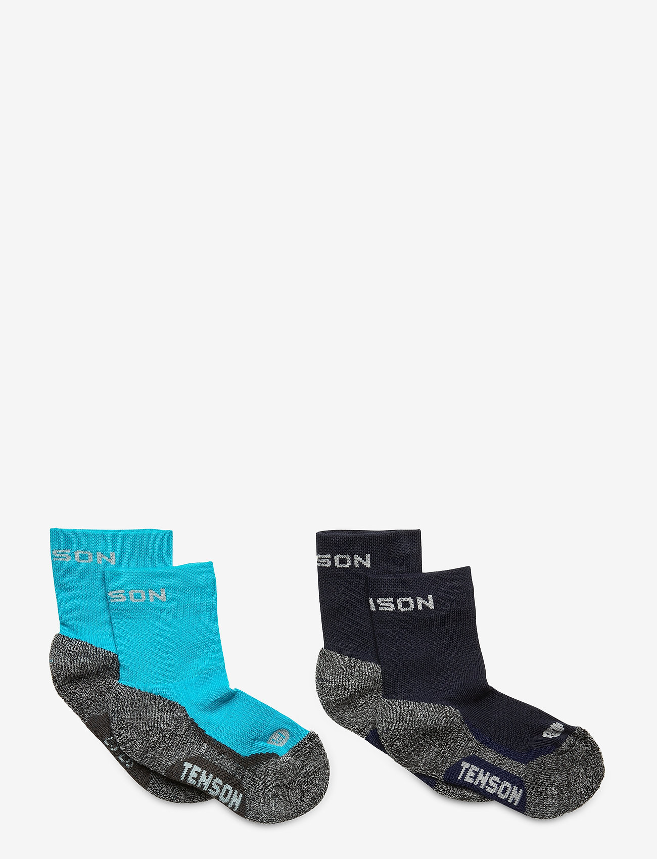 Tenson - Hiking Crew Jr 2 PK - sokken - blue - 0