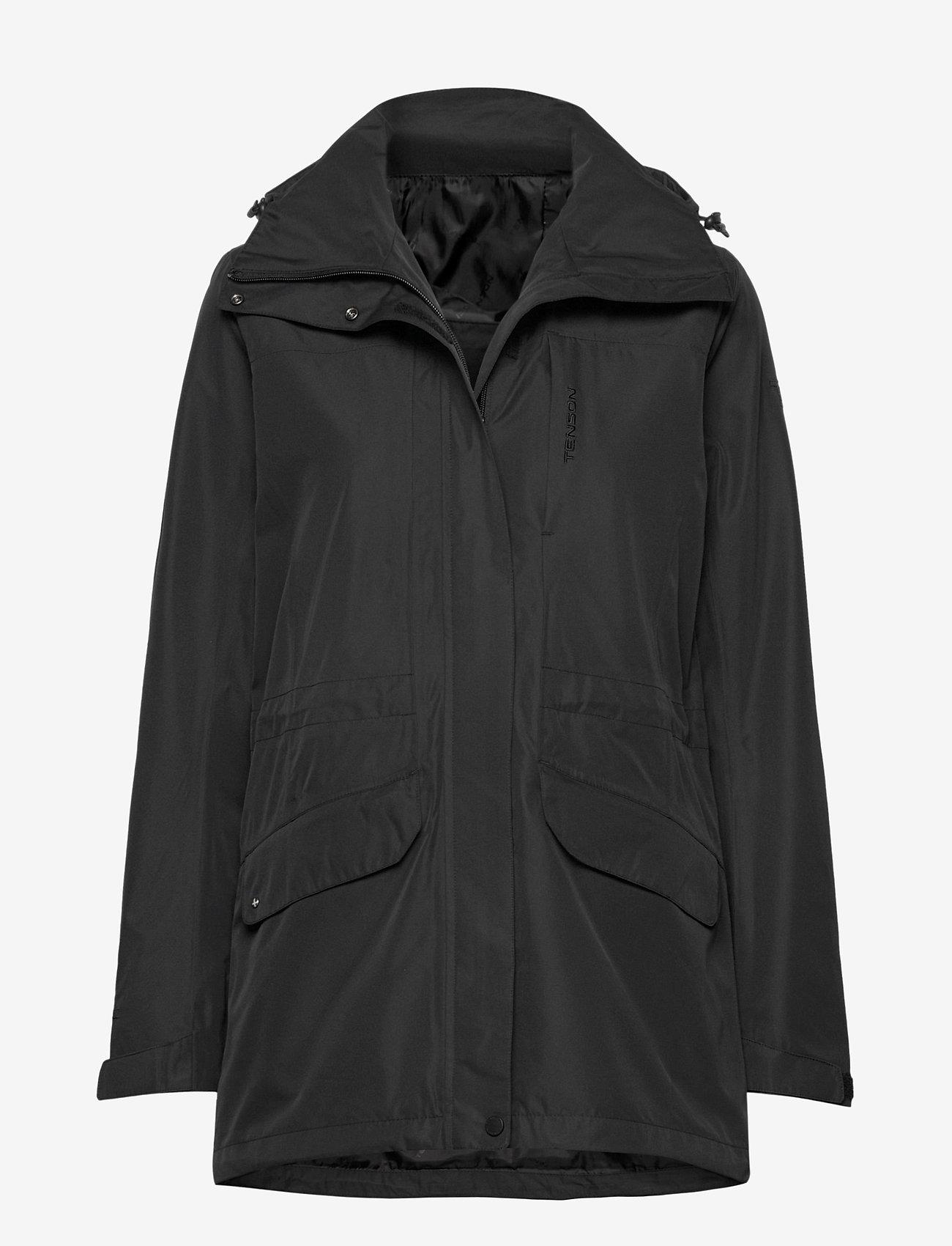 Tenson - Maisie - manteaux de pluie - black - 0