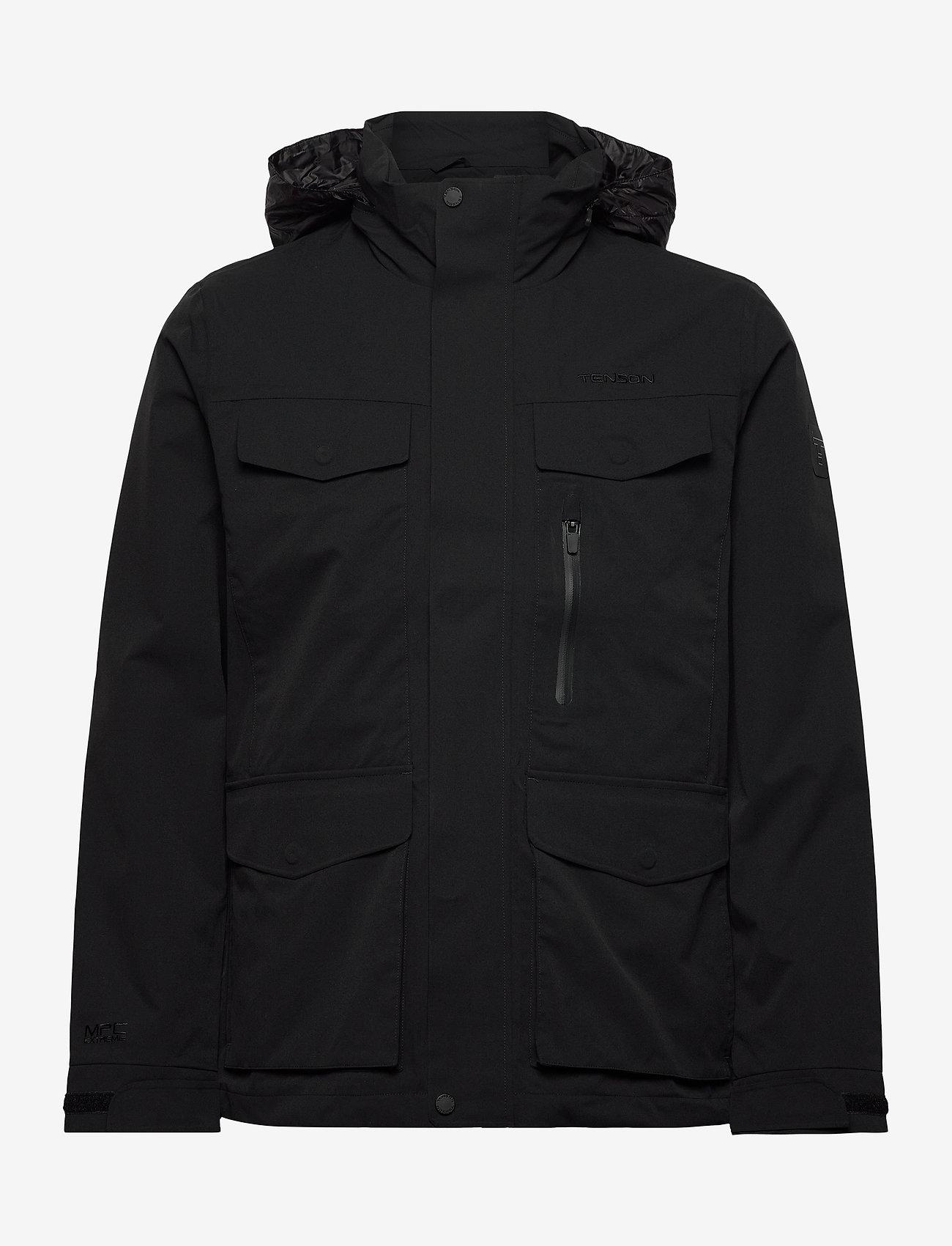 Tenson - Johan - vestes d'extérieur et de pluie - black - 0