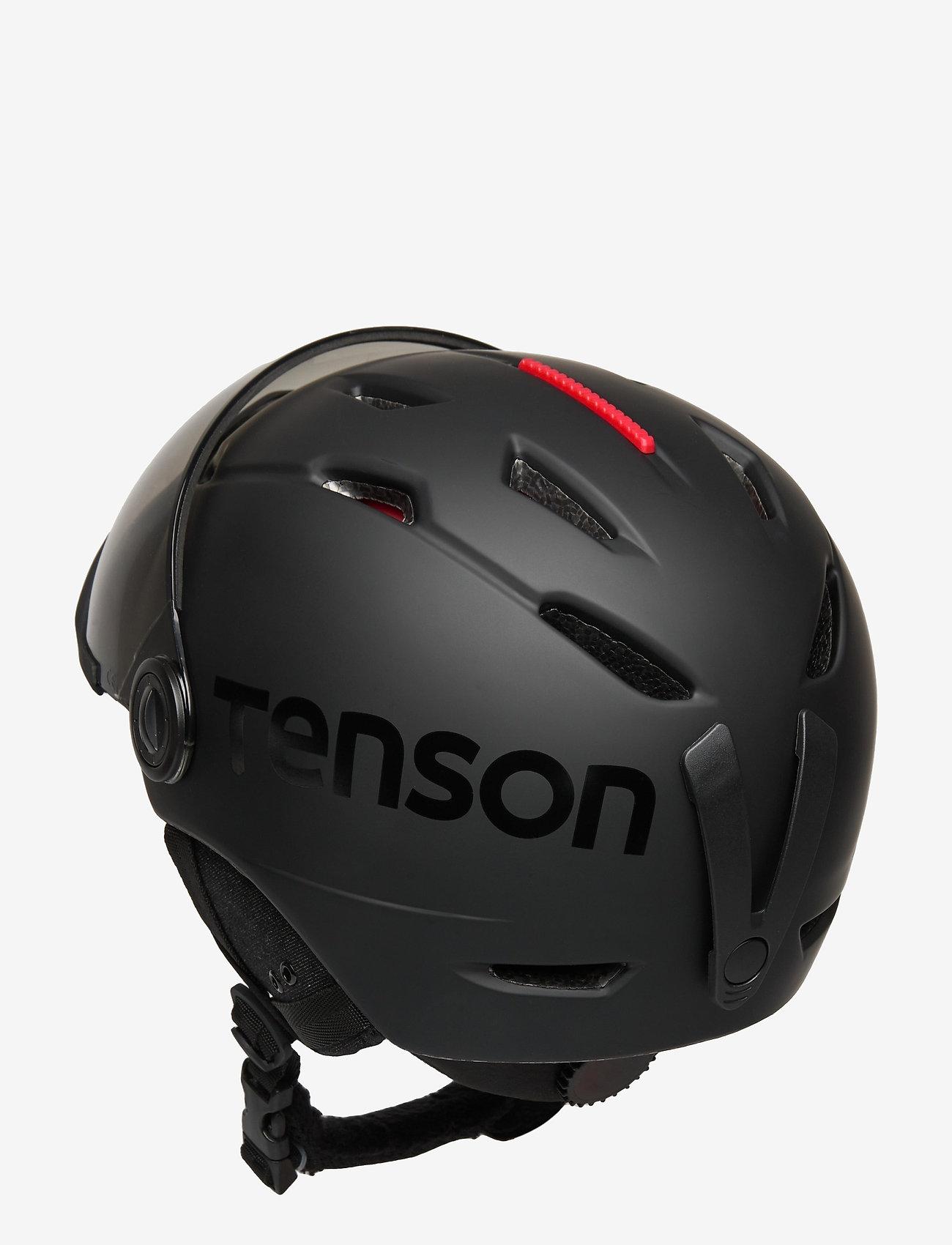 Tenson - TERRA VISOR - talviurheiluvälineet - black - 1