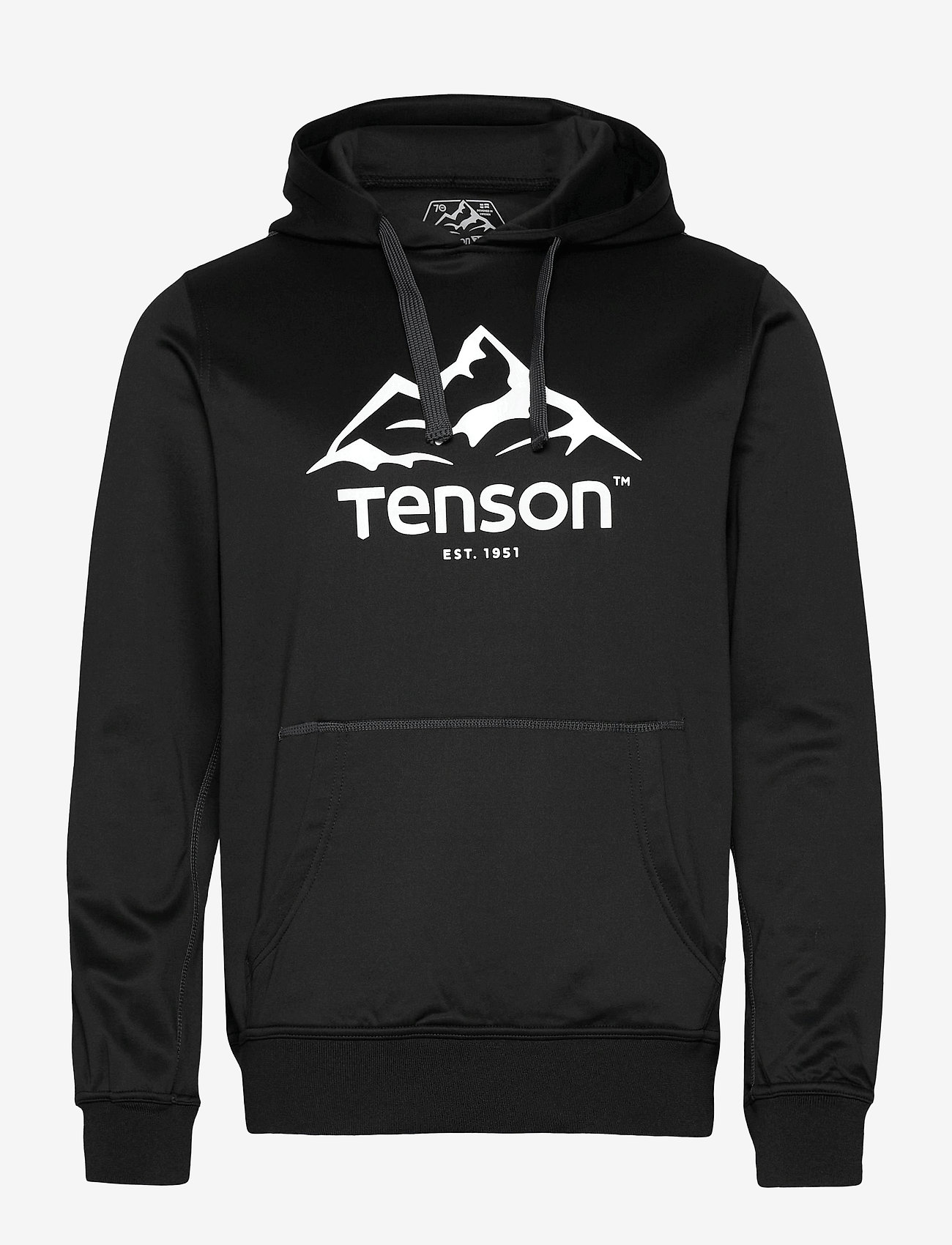 Tenson - Mount Race Hoodie - fleece - black - 0