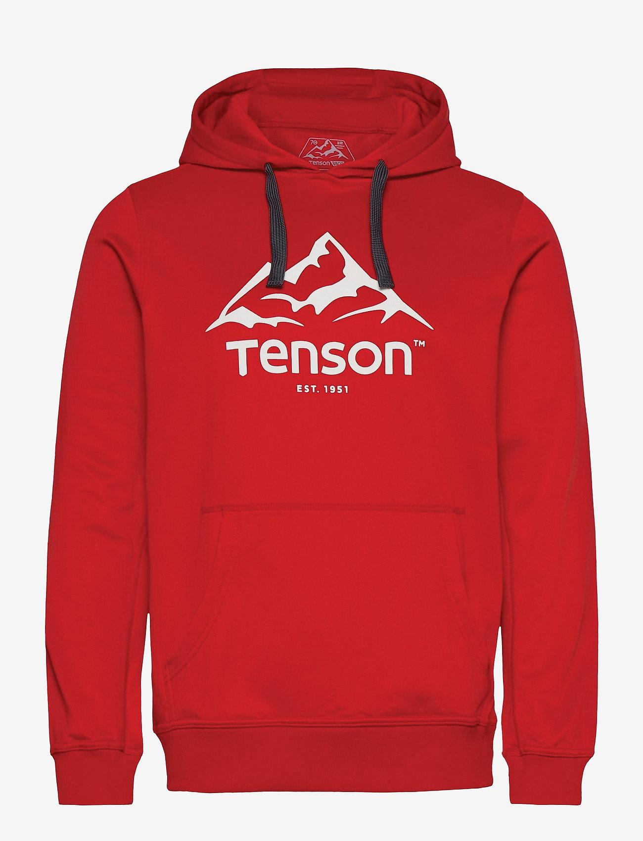 Tenson - Mount Race Hoodie - fleece - red - 0