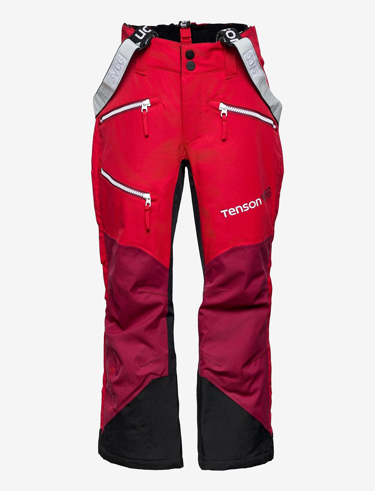 Tenson - Pow Race - skibroeken - red - 0