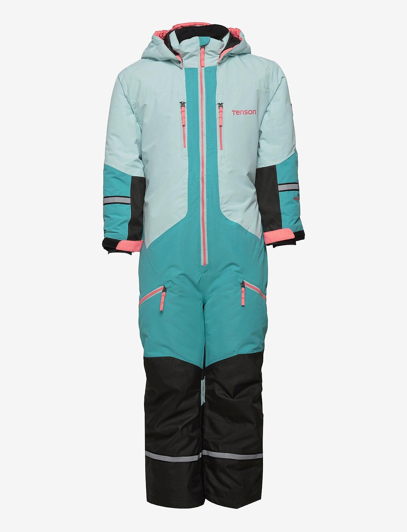 Tenson - Dragon - snowsuit - light turquoise - 0