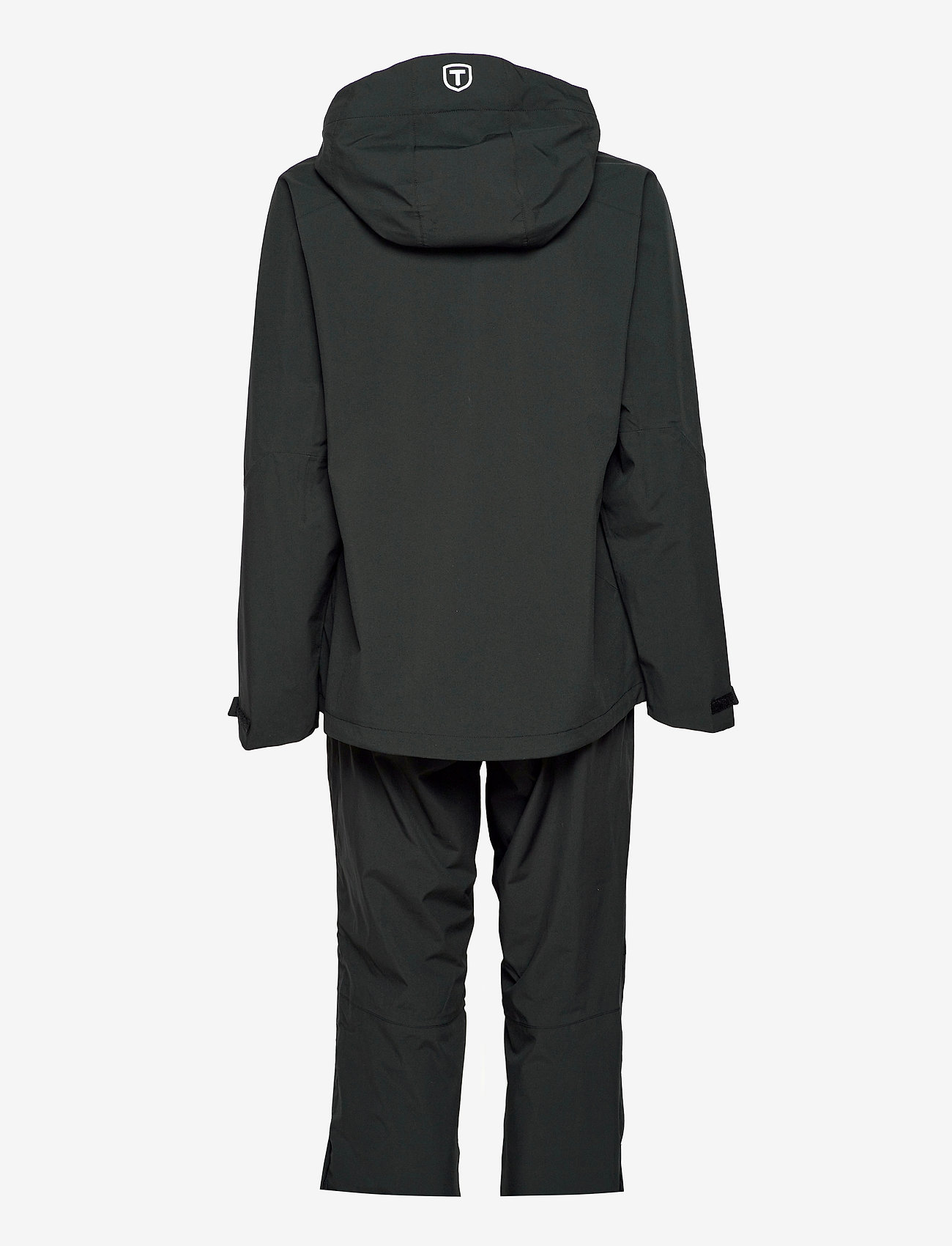 Tenson - HURRICANE XP SET W - manteaux de pluie - black - 1