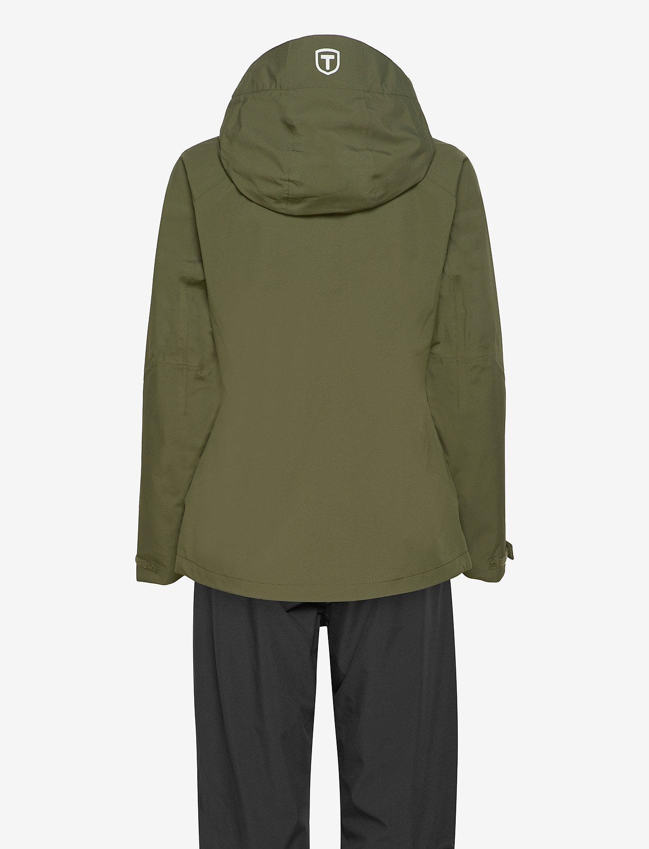 Tenson - HURRICANE XP SET W - manteaux de pluie - khaki - 1
