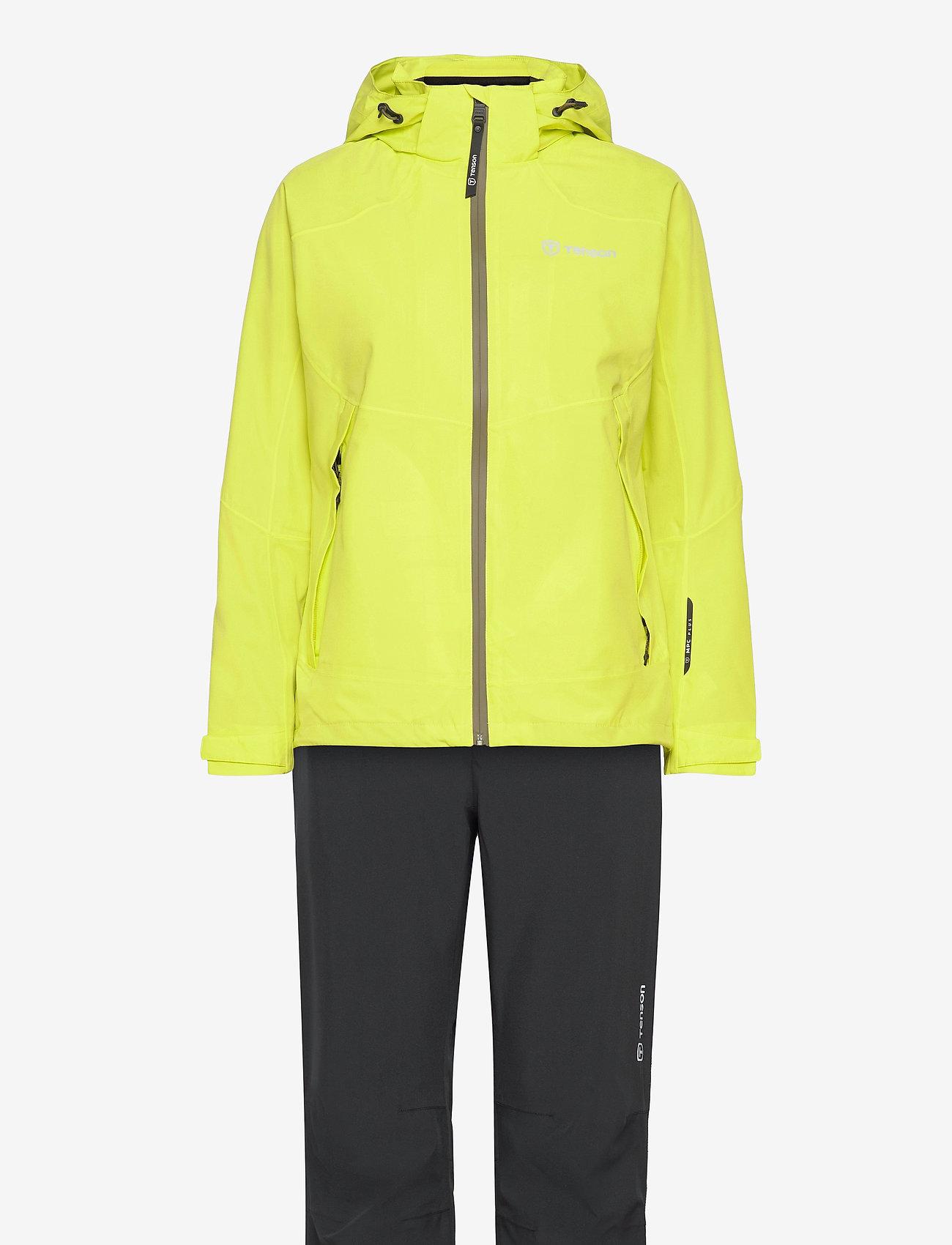 Tenson - HURRICANE XP SET W - manteaux de pluie - light green - 0