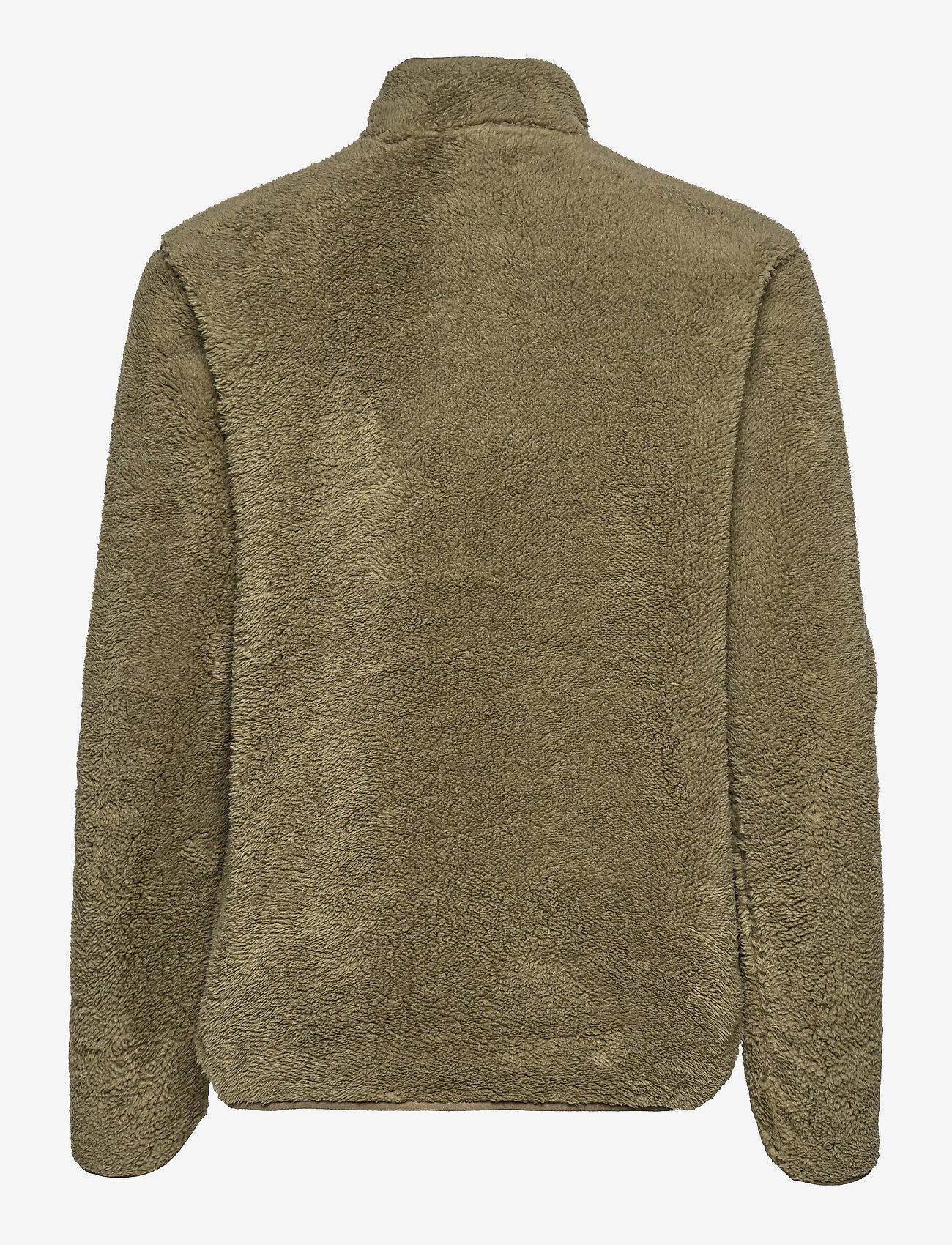Tenson - Nechako Pile Jkt W - outdoor & rain jackets - olive - 1