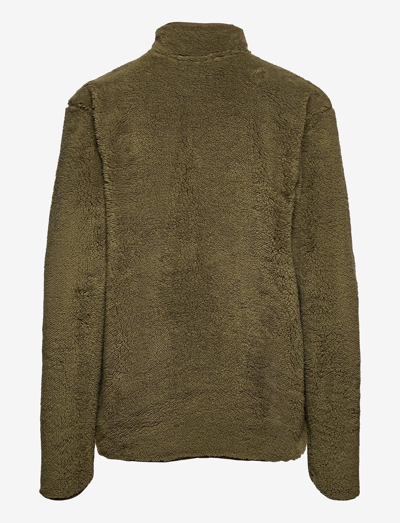 Tenson - Nechako Pile Jkt M - basic-sweatshirts - olive - 1