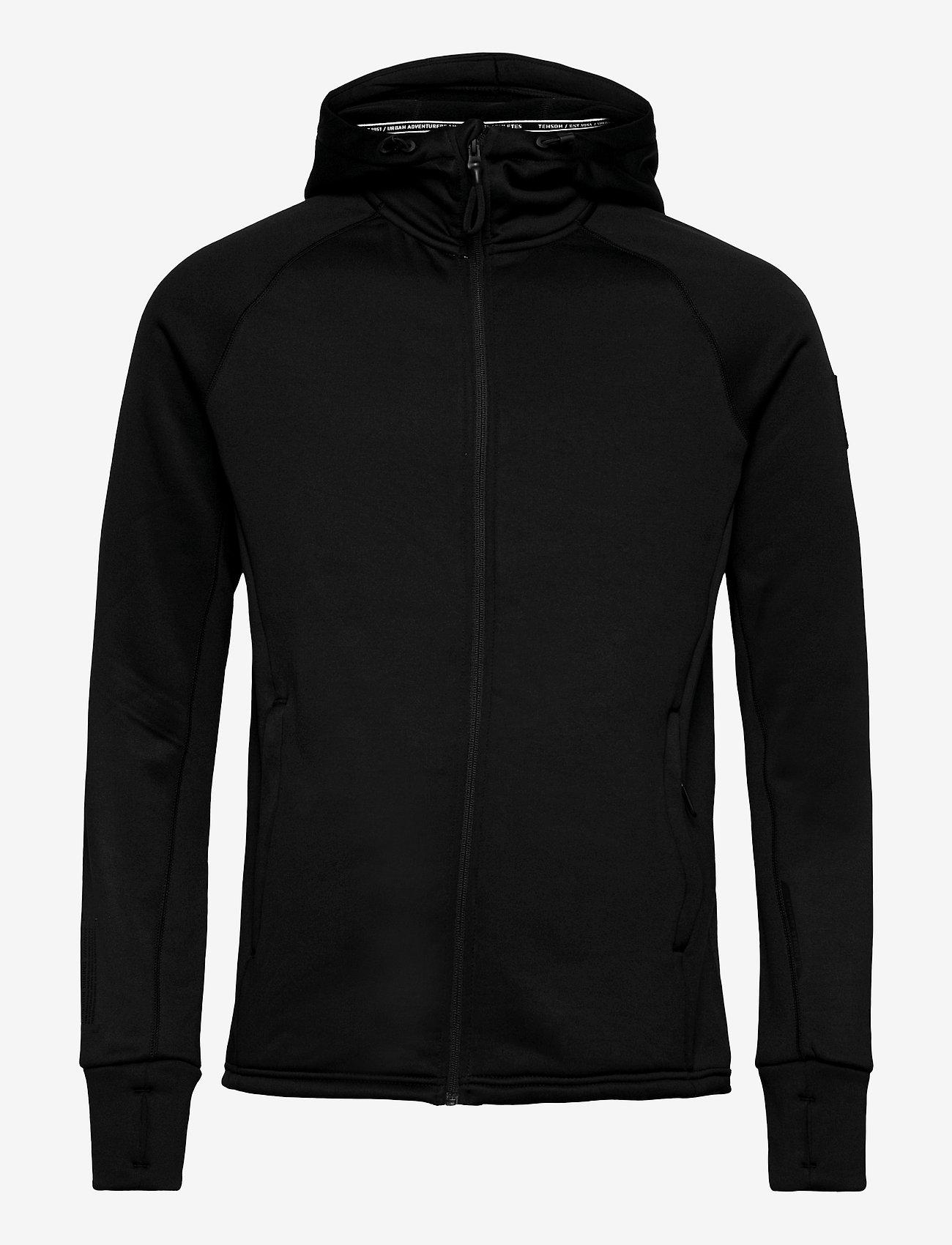 Tenson - Icon Hoodie M - basic-sweatshirts - black - 0