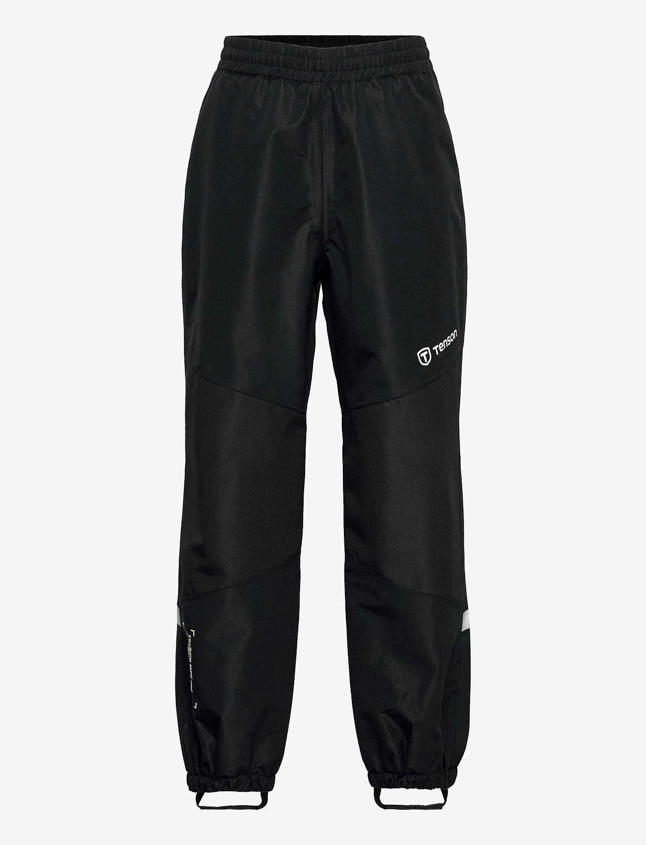 Tenson - Shore pants jr - shell- & regenbroeken - black - 0