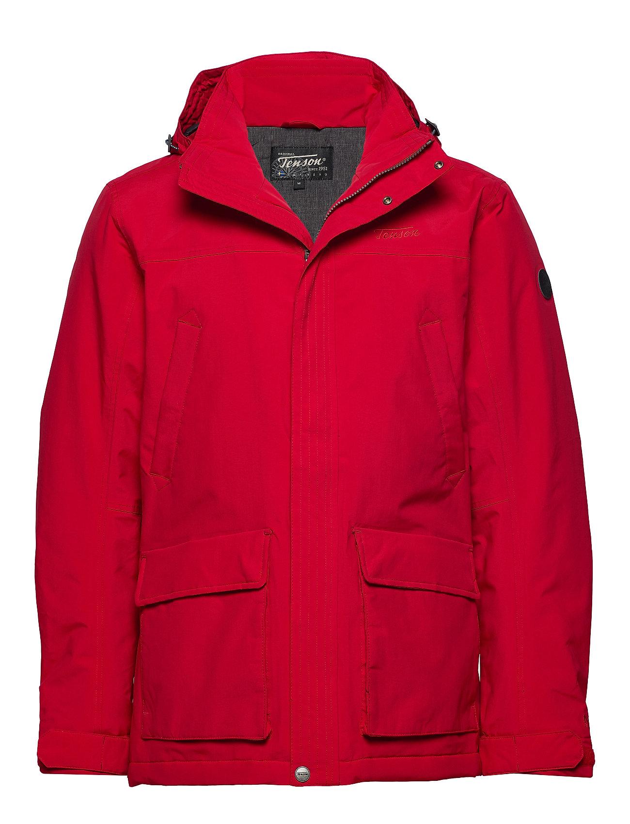 Tenson Lonan Outerwear men - RED