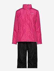 Tenson - Monitor W Set - manteaux de pluie - cerise - 1