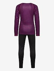 Tenson - Poppy Print - basislag - purple - 1