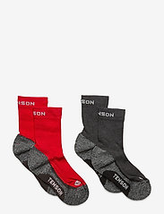 Tenson - Hiking Crew Jr 2 PK - sokken - grey - 0