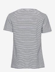Tenson - Joni - raidalliset t-paidat - dark blue - 1