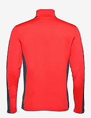 Tenson - Everly - fleece - orange - 1