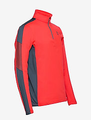 Tenson - Everly - fleece - orange - 3