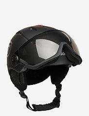 Tenson - TERRA VISOR - talviurheiluvälineet - black - 0
