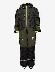 Tenson - Dragon - snowsuit - khaki - 0