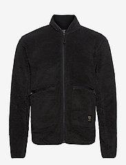 Tenson - Nechako Pile Jkt M - basic-sweatshirts - black - 0