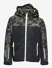 Tenson - Wave Jacket jr - shell- & regenjassen - dark green - 0