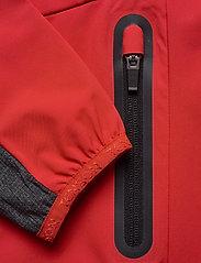 Tenson - Flora - softshell-jackor - red - 4