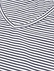 Tenson - Joni - raidalliset t-paidat - dark blue - 2