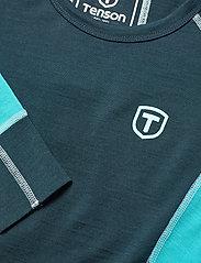 Tenson - Wanda - thermo ondershirts - turqoise - 2