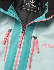 Tenson - Dragon - snowsuit - light turquoise - 4