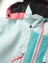 Tenson - Dragon - snowsuit - light turquoise - 5