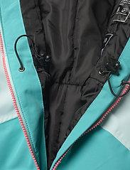 Tenson - Dragon - snowsuit - light turquoise - 6