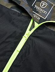 Tenson - Wave Jacket jr - shell- & regenjassen - dark green - 3