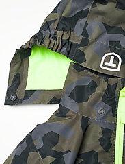Tenson - Wave Jacket jr - shell- & regenjassen - dark green - 6