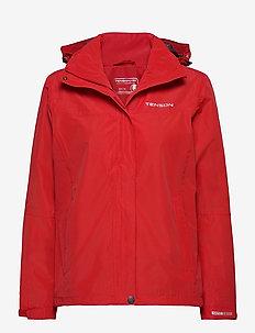 Monitor W Jacket - outdoor & rain jackets - red