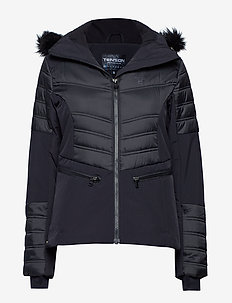 Corinna - ski jackets - black