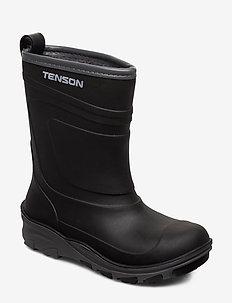 ALFON - rubberboots - black
