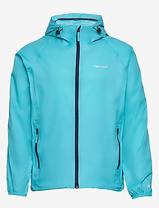 CREST - rain coats - turqoise