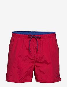Kos - swim shorts - red