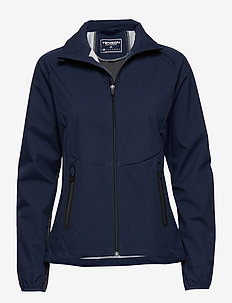 Flora - softshell-jackor - dark blue