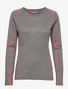 Wonder - base layer tops - antracithe
