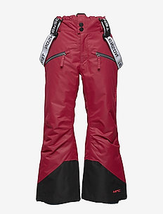 Micha - winter trousers - deep red