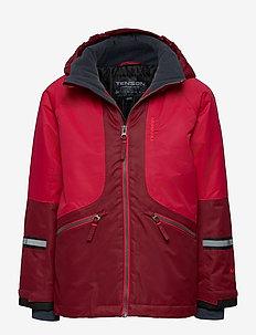 Dexter - ski jassen - deep red
