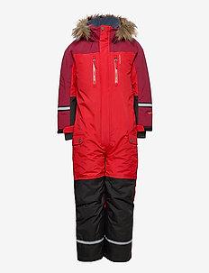 Dominic - snowsuit - red