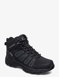 Norrberg Mid Spike M - hiking/walking shoes - black
