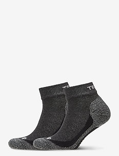 QUARTER 2-PACK - ankelstrumpor - dark grey