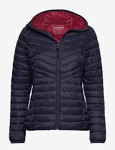 Siri - insulated jackets - dark blue